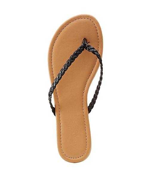 b8f56beb5981 Braided Flip Flop Sandals ...