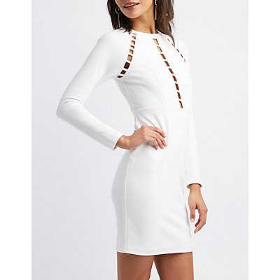 Cut-Out Bodycon Dress