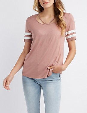Varsity Striped T-Shirt