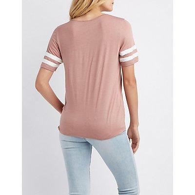 Varsity Striped T-Shirt