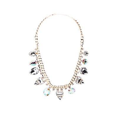 Crystal Bib Necklace