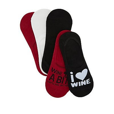 Wine A Bit Shoe Liners - 5 Pack