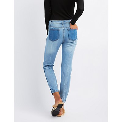 Machine Jeans Medium Wash Skinny Jeans