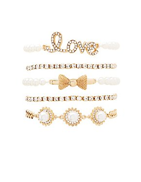 Love Layering Bracelets - 5 Pack