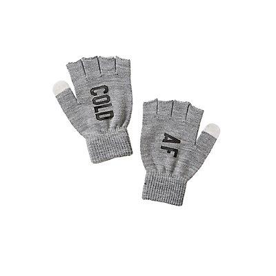 Cold AF Fingerless Gloves