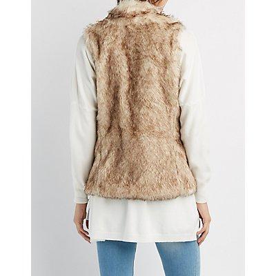 Zip-Up Faux Fur Vest