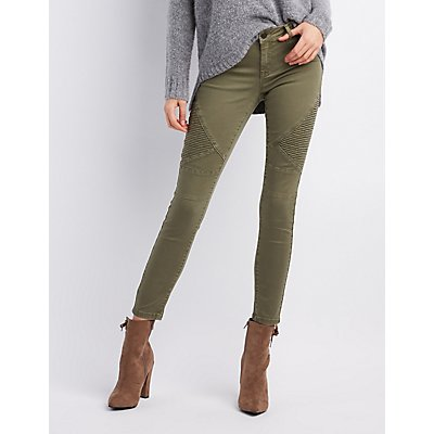 Refuge Skin Tight Legging Moto Jeans