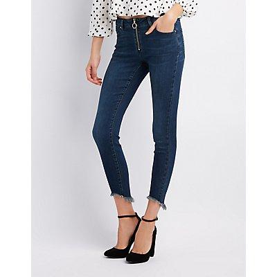 Refuge O-Ring Hi-Rise Skinny Jeans