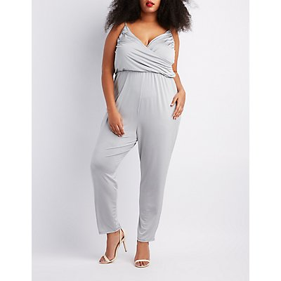 plus size jumpsuits & rompers | charlotte russe