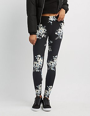 Floral Stretch Leggings