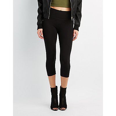 High-Rise Cropped Leggings