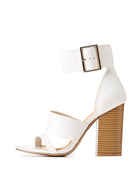 7ec177b041c Thick Ankle Strap Sandals ...