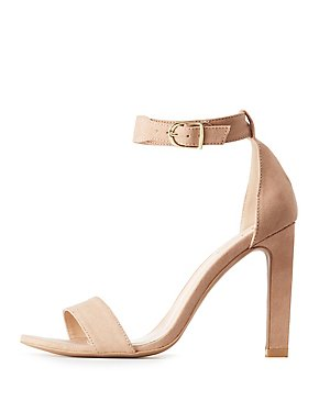 Qupid Two-Piece Dress Sandals