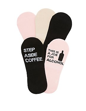 Coffee & Alcohol Shoe Liners - 5 Pack