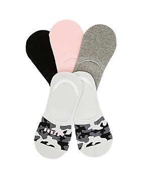 HBIC Camo Shoe Liners - 5 Pack