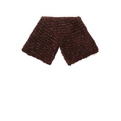 Fuzzy Knit Scarf