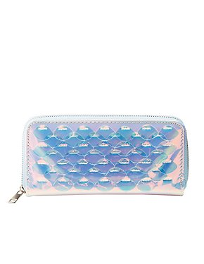 Holographic Zip Wallet