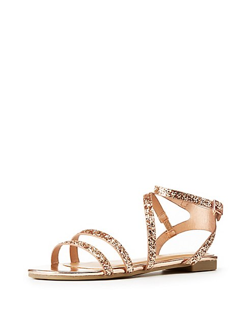 Looking For 2018 Cheap Price strappy glitter sandals Discount Enjoy Brand New Unisex Cheap Online Wholesale Price For Sale V33zow