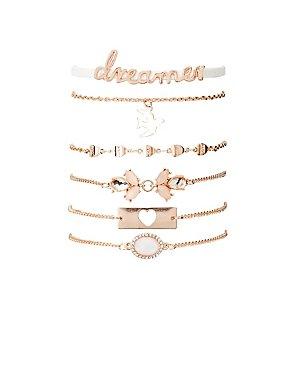 Dreamer Layering Bracelets - 4 Pack