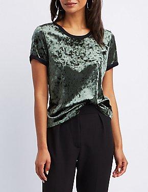 Velvet Ringer T-Shirt