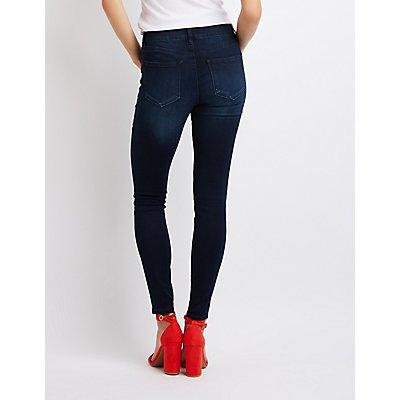 Refuge Push Up Legging Lifting Skinny Jeans
