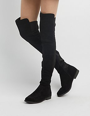 Over-The-Knee Combo Boots