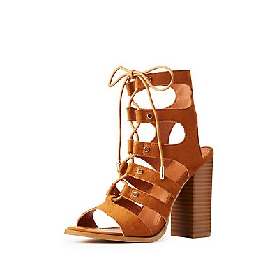 Lace-Up Gladiator Sandals