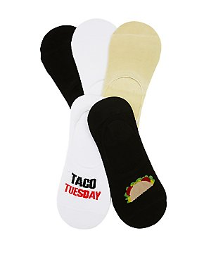 Taco Tuesday Shoe Liners - 5 Pack