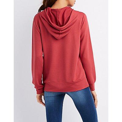 Pullover Drawstring Hoodie