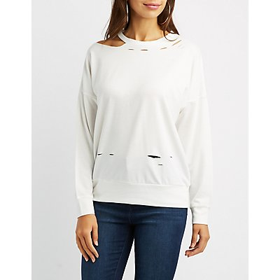 Destroyed Cut-Out Top