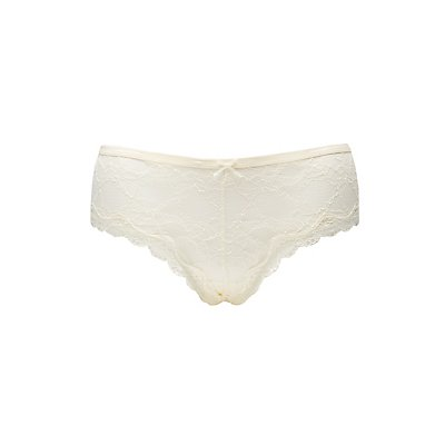 Plus Size Caged-Back Lace Panties