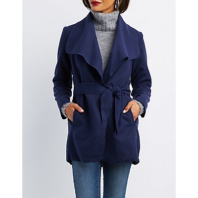 Fleece Wrap Jacket