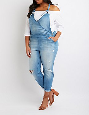 Plus Size Refuge Denim Overalls