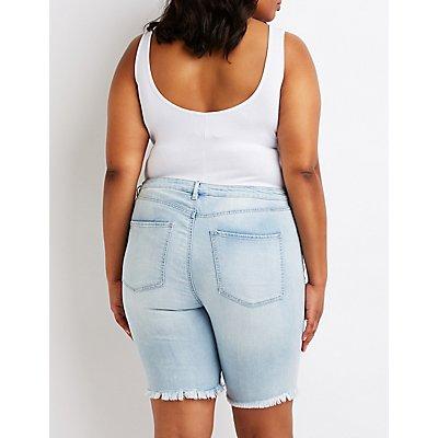 Plus Size Refuge Bermuda Shorts