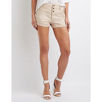 Refuge Hi-Waist Shortie Shorts