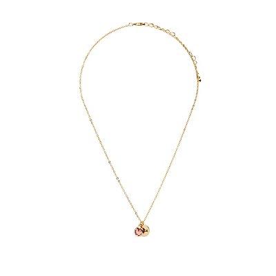 Peace Amethyst Pendant Necklace