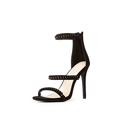 Braided Chain Ankle Strap Sandals