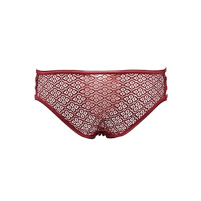 Lace Caged Cheeky Panties
