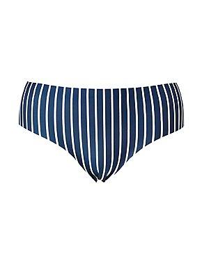 Plus Size Printed Laser Cut Cheeky Panties