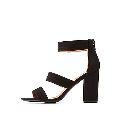 Open Toe Ankle Strap Sandals