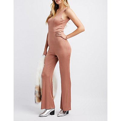 Open-Back Palazzo Jumpsuit
