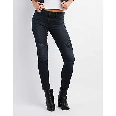 Refuge Moto Skinny Jeans