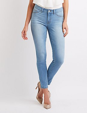 Refuge Push-Up Skinny Jeans