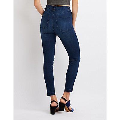 Refuge High Rise Legging Jeans