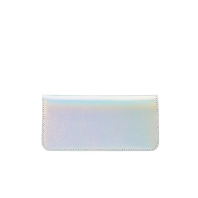 Holographic Single Flap Wallet