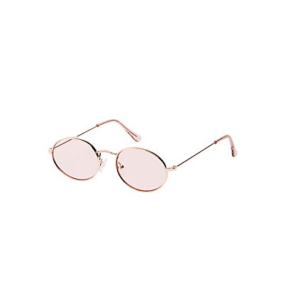 Small Metal Round Sunglasses