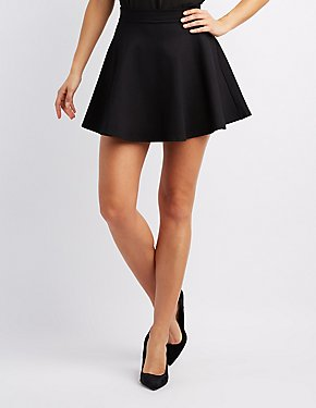 Black Dress And Printed Shoes
