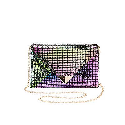 Holographic Envelope Clutch