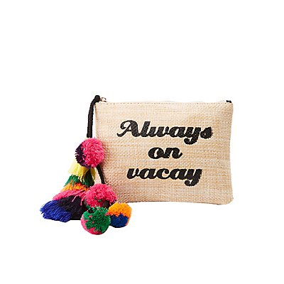 Always On Vacay Straw Bag
