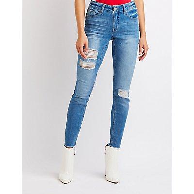 Refuge Destroyed Boyfriend Jeans